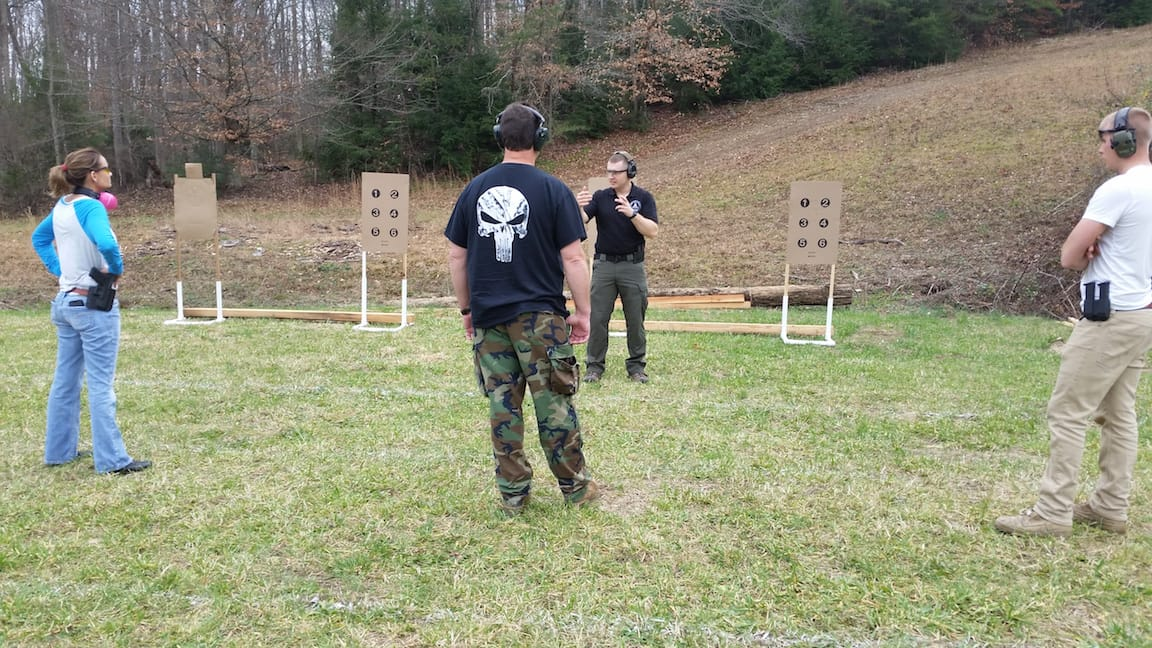 Self defense weapon training classes