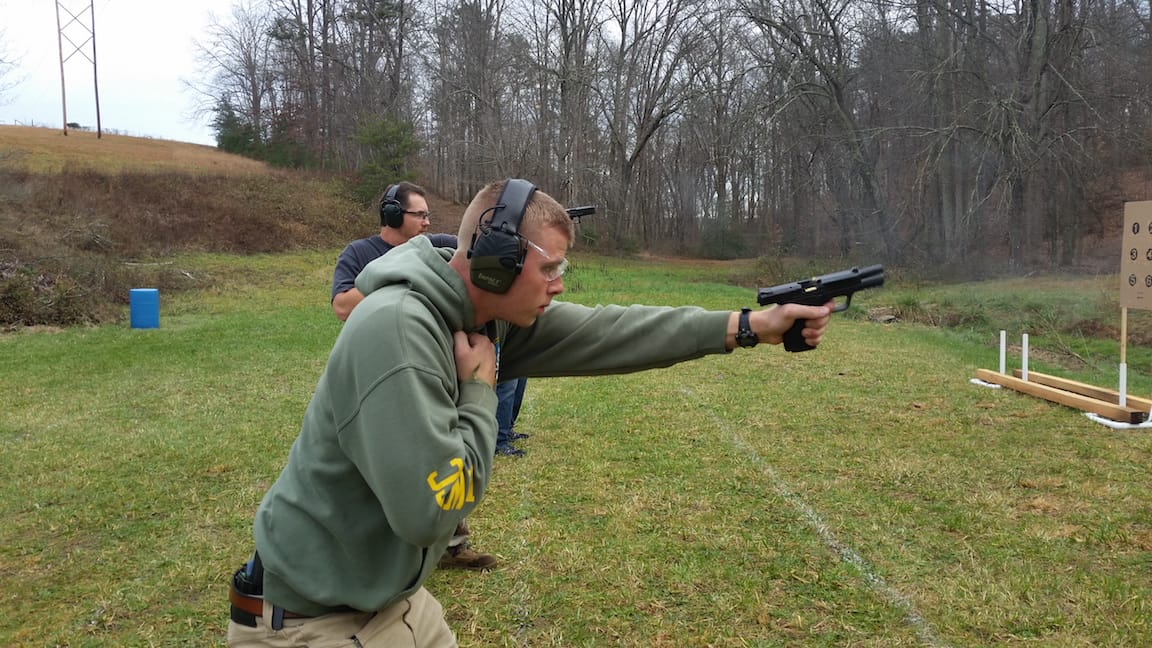 Weak Hand Only Shooting - Tactical Handgun Training London KY