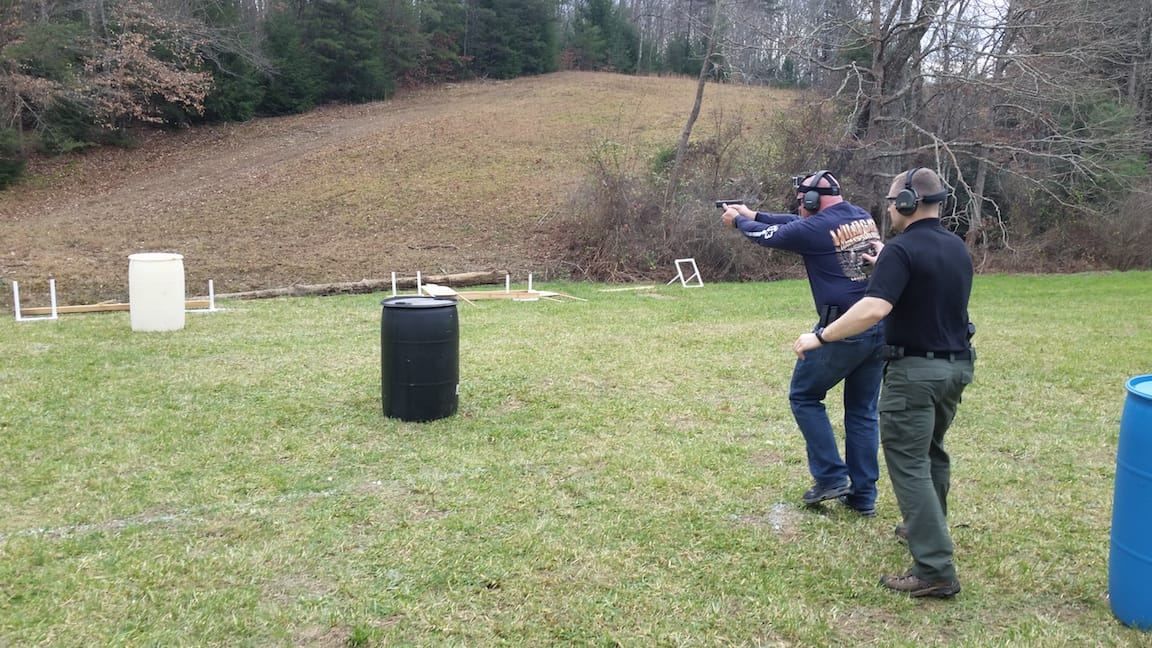 Serpentine Drill - Tactical Pistol Training London KY