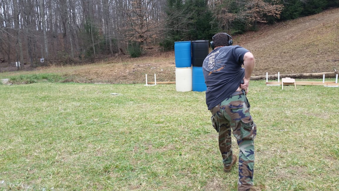 Moving to Cover - Tactical Pistol Training London KY