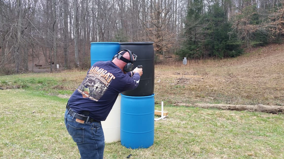 Use of Cover - Tactical Handgun Training London KY