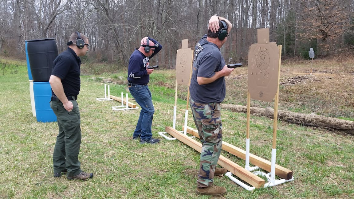 Retention Shooting - Tactical Pistol Training London KY
