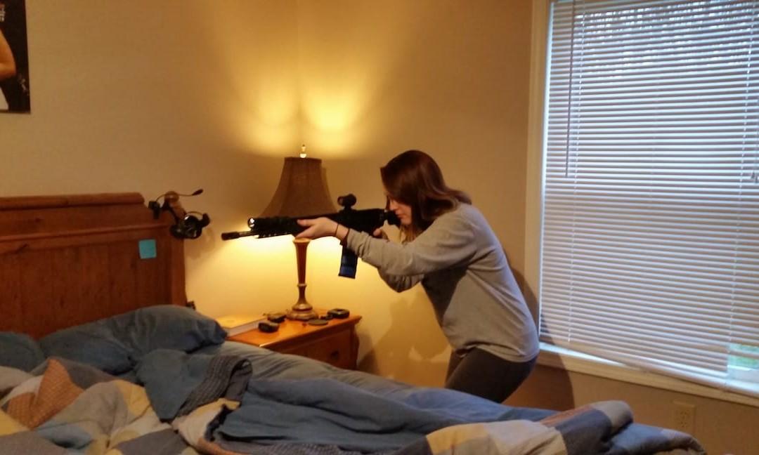 Home Defense: Rifle vs. Pistol