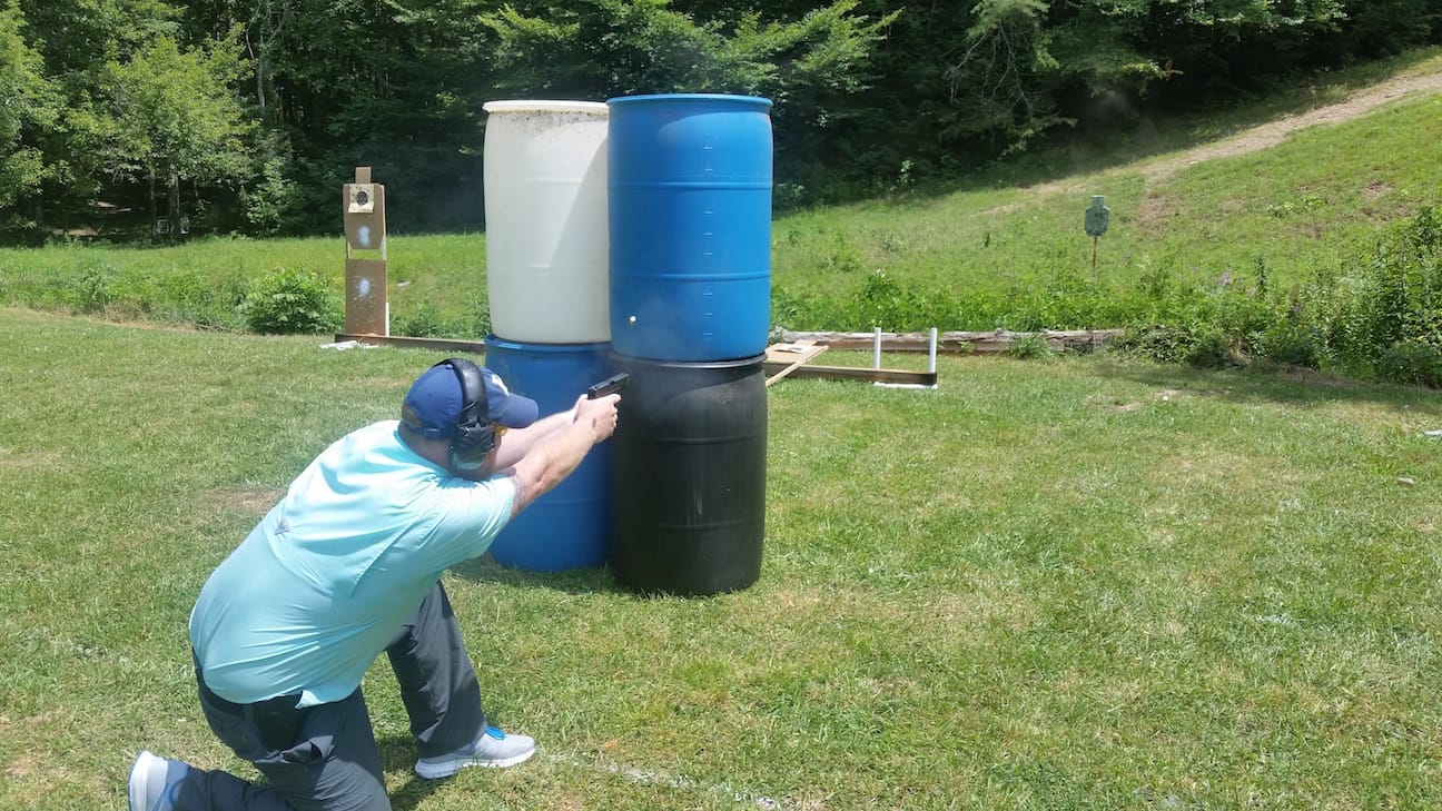 Shooting from Cover - Tactical Pistol Training London KY
