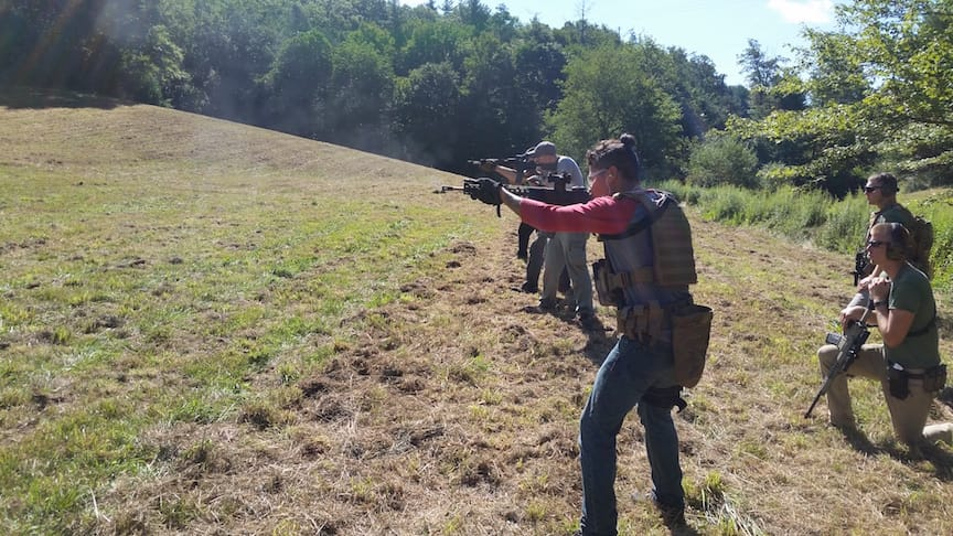 Tactical rifle training with Appalachian Tactical Academy