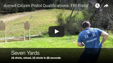 New YT Video: FBI Pistol Qual