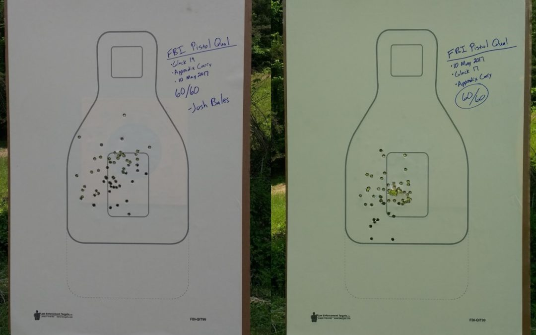Re-Shooting the FBI Pistol Qualification Course