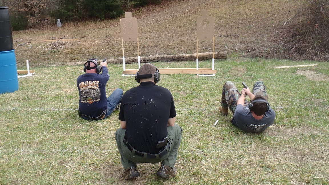 Fighting back to their feet - Tactical Handgun Training London KY