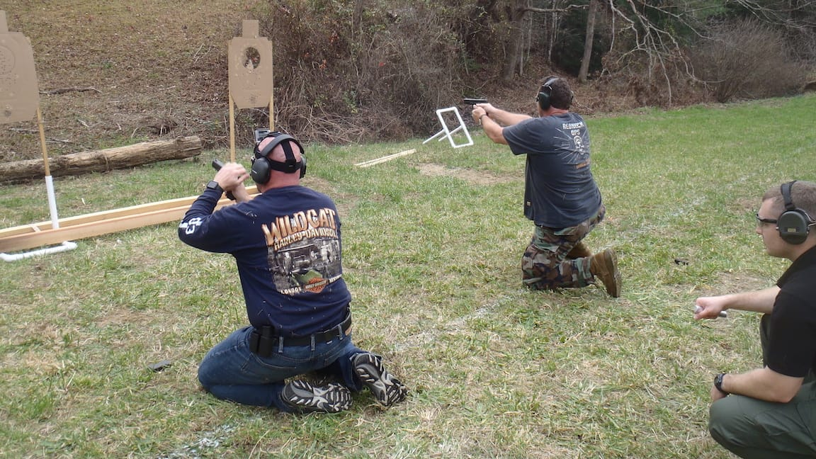 Advanced firearms training courses