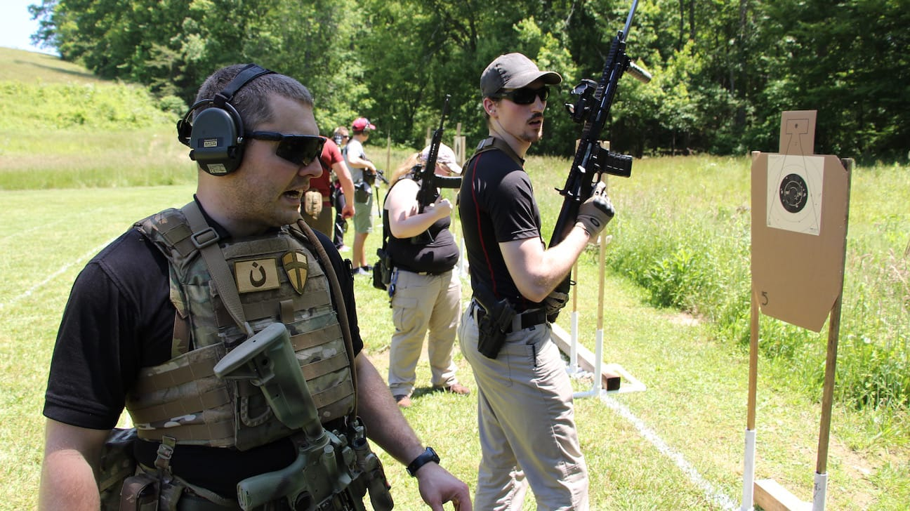 Tactical rifle training courses