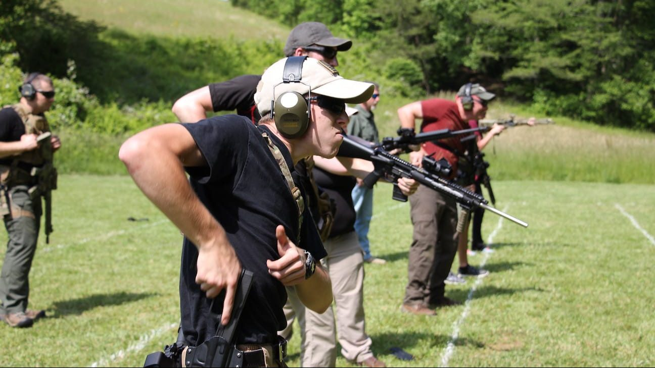Advanced tactical rifle and pistol training courses