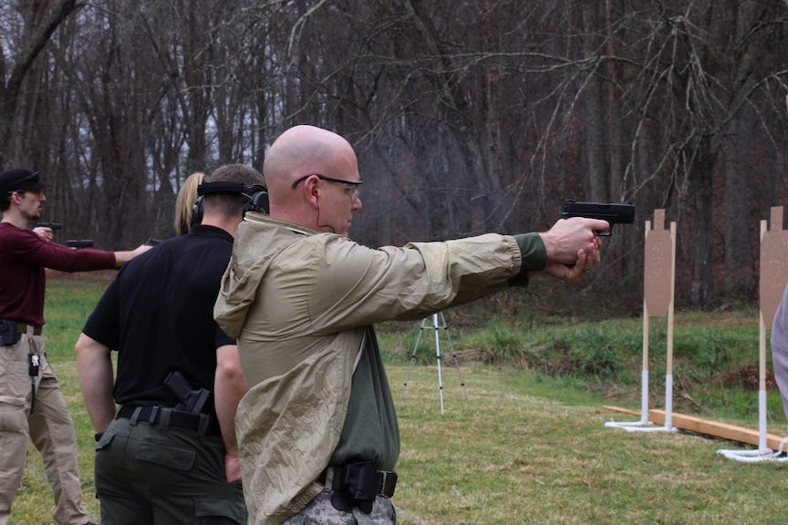 Student Review by Master Eric: ATA Pistol I – 11/28/2015