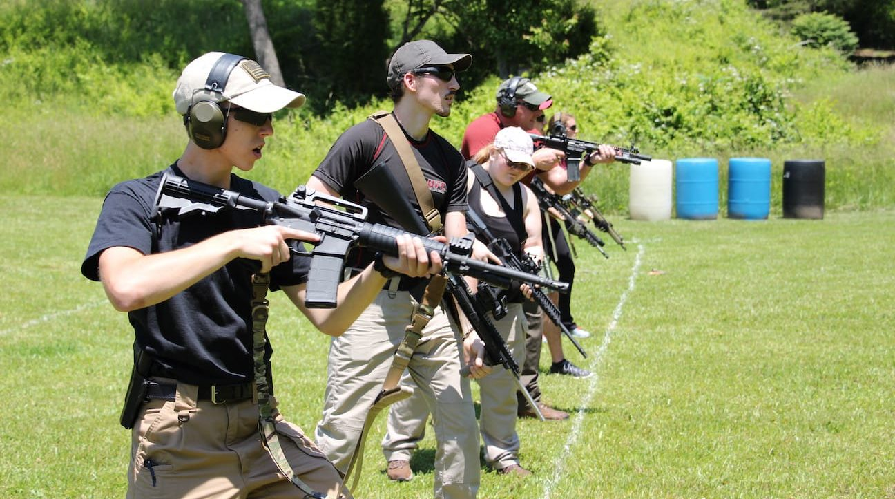 Training to fight with an AR15 Carbine