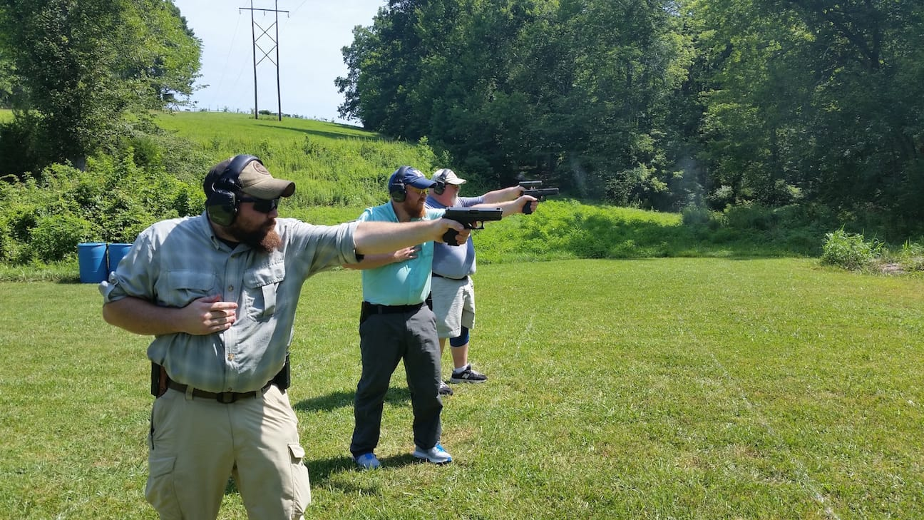 Weak Hand Only Shooting - Tactical Pistol Training London KY