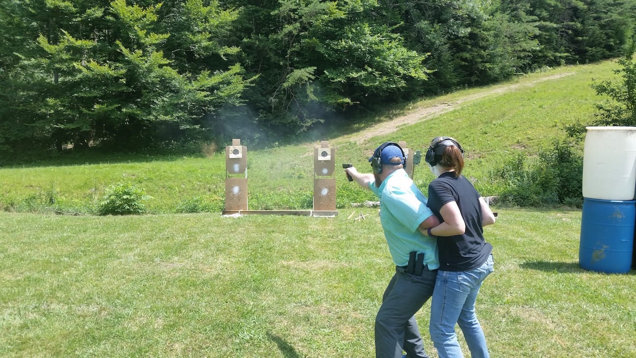 Moving a non-shooter - Tactical Handgun Training London KY